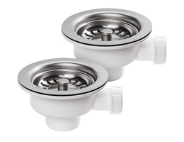 Rangemaster Waste Kit - For Classic Belfast Sink with Double Bowl