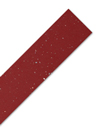 Red Sparkle Laminate Worktop Edging Strip - Andromeda - 1500mm x 45mm