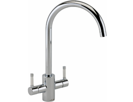 Reginox Genesis White and Chrome Mixer Tap