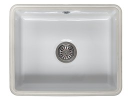 Reginox Mataro Single Bowl Undermount Ceramic Sink