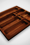 Solid Iroko Cutlery Drawer Inserts