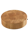 WEX Solid Oak Wireless Worktop Charger