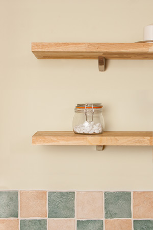 Solid Wood Wall Shelves