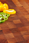 Walnut End Grain Butchers Block 1M X 620 X 100mm