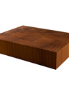 Walnut End Grain Butchers Block Sample 200mm X 150mm X 40mm