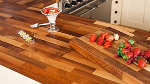solid walnut worktops walnut block wood kitchen worktops. Black Bedroom Furniture Sets. Home Design Ideas