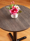 Laminate Black Wenge Round Table Top - 600mm x 22mm