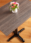 Laminate Black Wenge Rectangle Table Top - 600mm x 900mm x 22mm