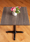 Laminate Black Wenge Square Table Top - 600mm x 600mm x 22mm