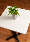 White Square Table Top - 600mm x 600mm x 22mm