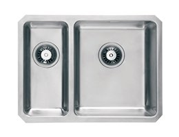 WEX Atlas Stainless Steel Right Hand Sink - 1.5 Bowl