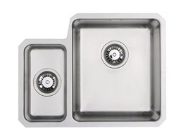 WEX Atlas 1.5 Bowl Stainless Steel  Sink - Right Hand