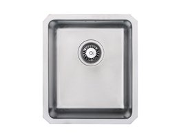 WEX Atlas Stainless Steel Single Bowl Kitchen Sink - Small