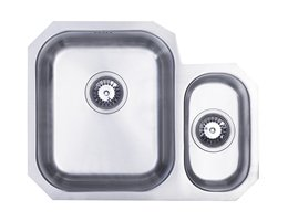 WEX Calypso 1.5 Bowl Kitchen Sink - Left Hand