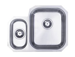 WEX Calypso Stainless Steel 1.5 Sink - Right Hand