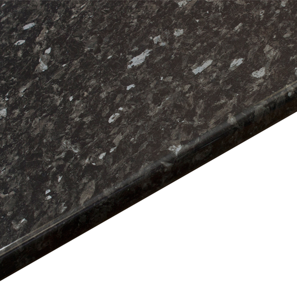 Gloss Black Bathroom Worktop Everest 2m X 365mm X 28mm