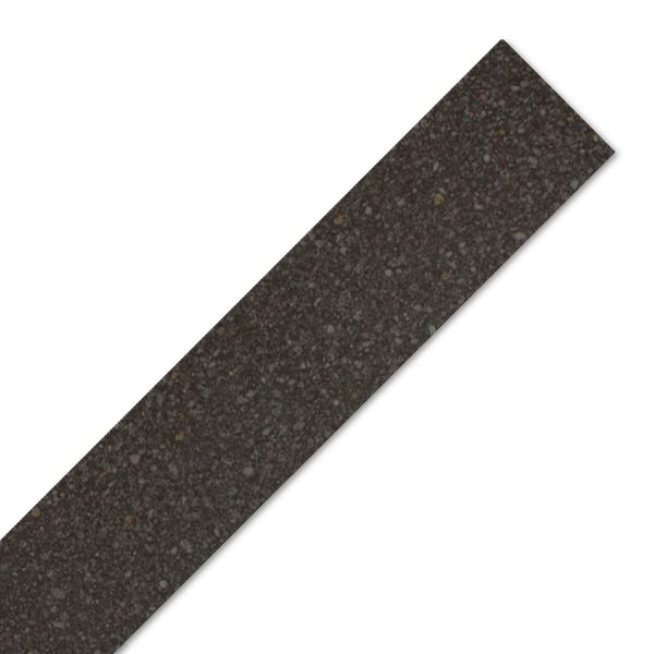 Black Gloss Laminate Worktop Edging Strip 1300mm X 44mm
