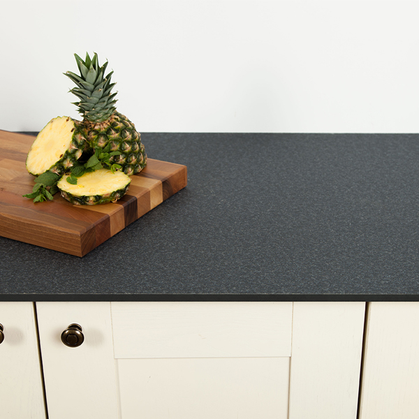 Kitchen Worktops Express: Black Granite Solid Laminate Worktops
