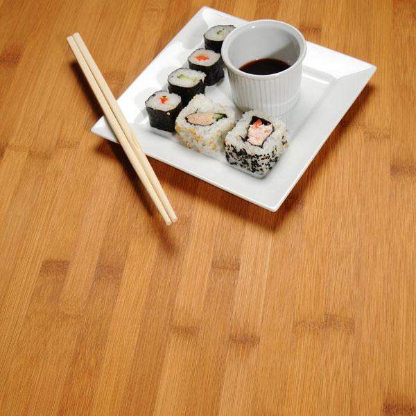 Caramel Bamboo Kitchen Worktops