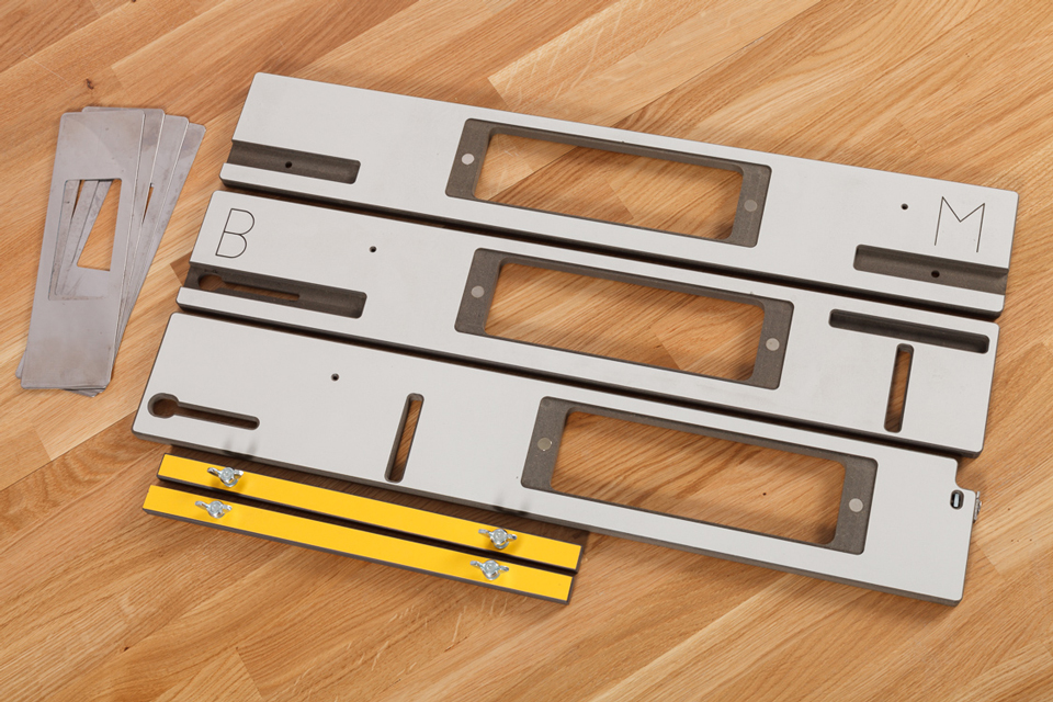 Hinge Jig Solid Laminate Worktop Express
