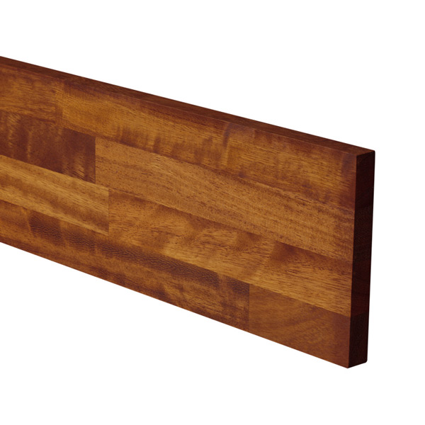 Iroko Solid Wood Plinth Worktop Express