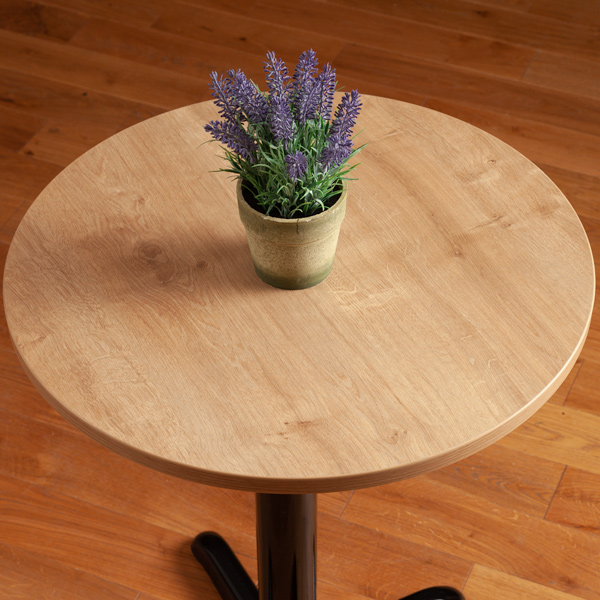 Laminate Table Tops Oak Round Table Top 600mm X 22mm