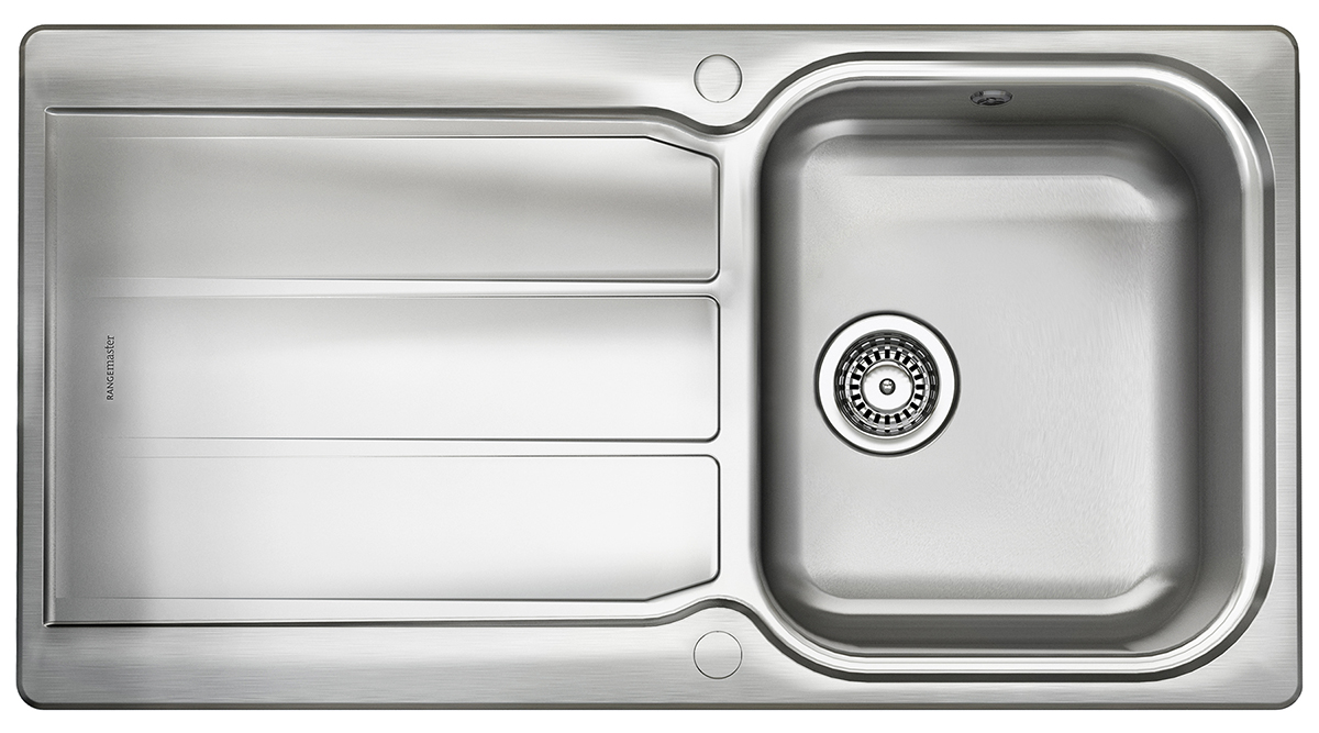 Rangemaster Kitchen Sinks Glendale stainless steel rangemaster sink single bowl workwithnaturefo