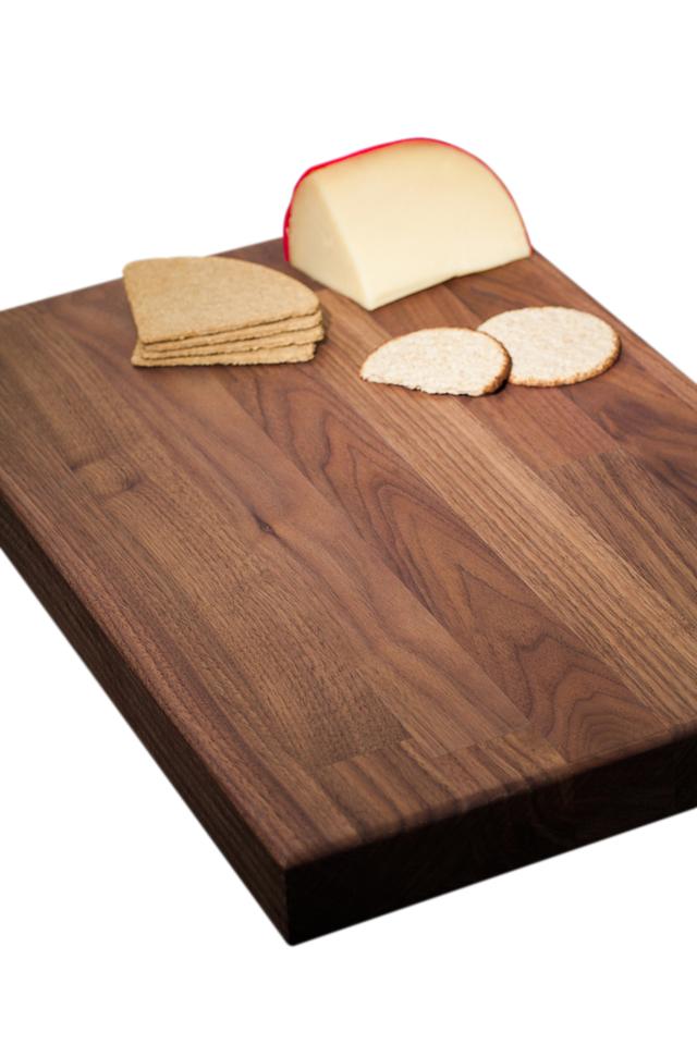 Solid Black American Walnut Chopping Board Worktop Express