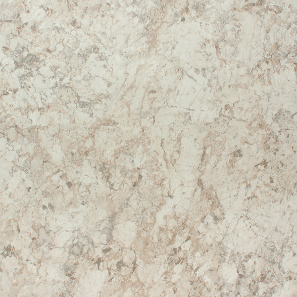White Laminate Kitchen Worktops: White Granite Laminate Worktop - Spring Carnival - 3.6m X 600mm X 38mm