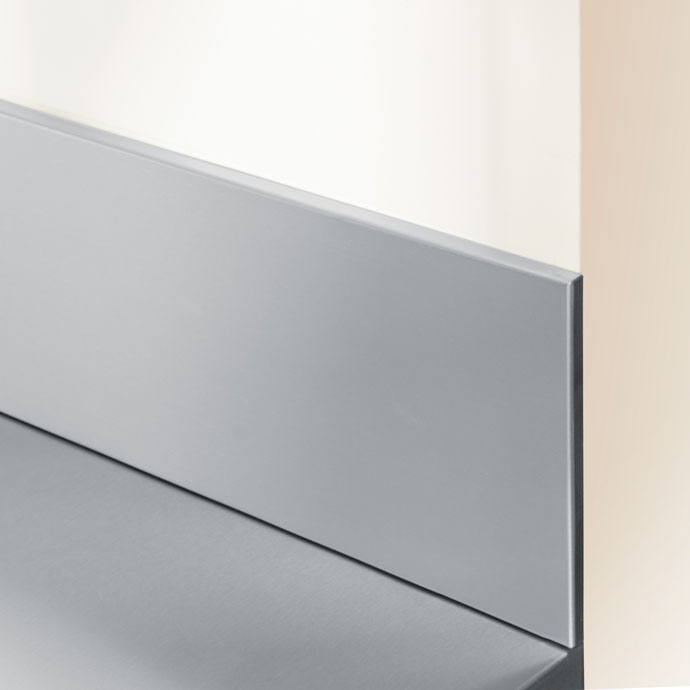 Stainless Steel Upstand Worktop Express