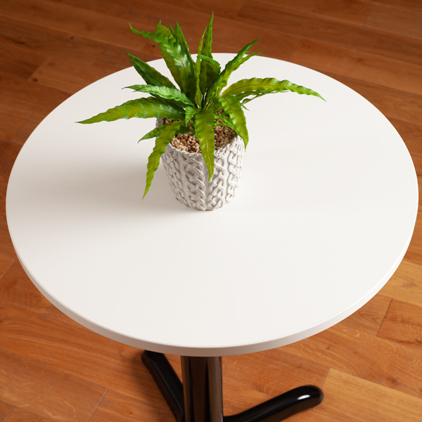 Laminate Table Tops White Round Table Top 600mm X 22mm