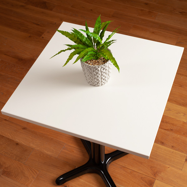 Laminate Table Tops White Square Table Top 600mm X