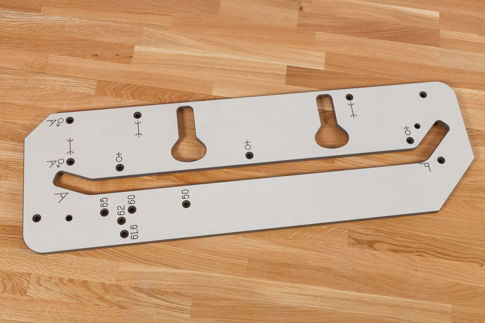 Worktop Jig 650mm Solid Laminate Worktop Express