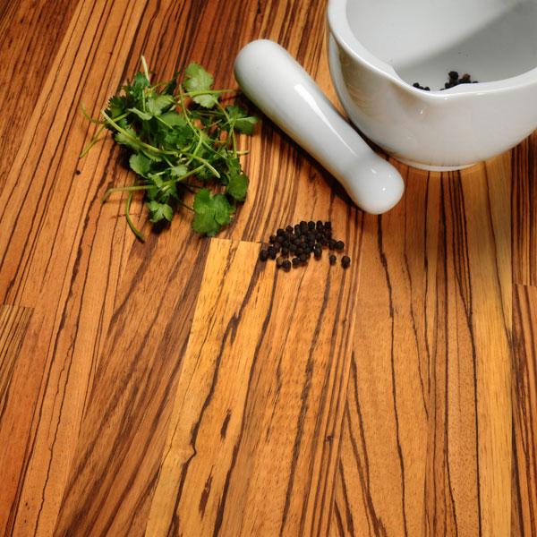 Solid Wood Zebrano Kitchen Worktops Worktop Express