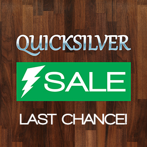 'Quicksilver Sale' Reminder: Final Weekend to Save 10% on Hardwood Counters
