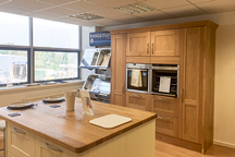 Oak Kitchen Worktops - Redhill Worktop Showroom
