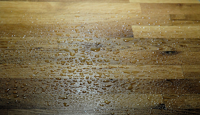 Danish Oil Kitchen Worktop