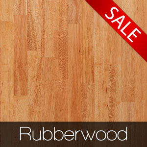 If you are looking for eco-friendly solid wood worktops, rubberwood countertops are an excellent choice.