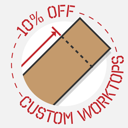 Save 10% on All Bespoke Services Ordered Through our Online Bespoke Worktop Tool
