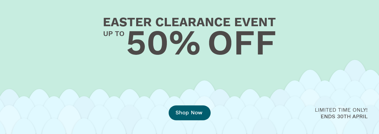 Easter Clearance Event - Up to 50% off selected Worktop