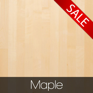 Solid Maple Worktops - now with up to 10% off!