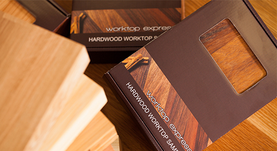 Try Block Wood Worktops Before You Buy with our Sample Service