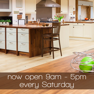 Gloucester Showroom Update: More Time to See Worktops on Saturdays!