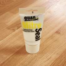 Use Silicon sealant to fill gaps between two worktops, or between your worktop and wall.