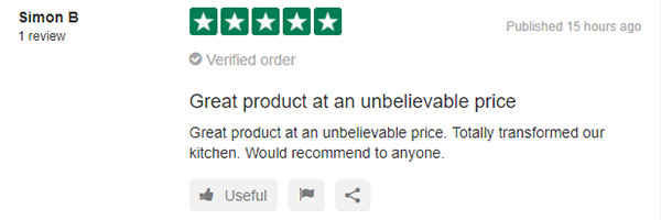 Recent review from Simon B