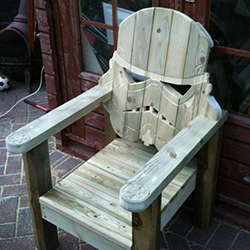 Solid Oak Stormtrooper