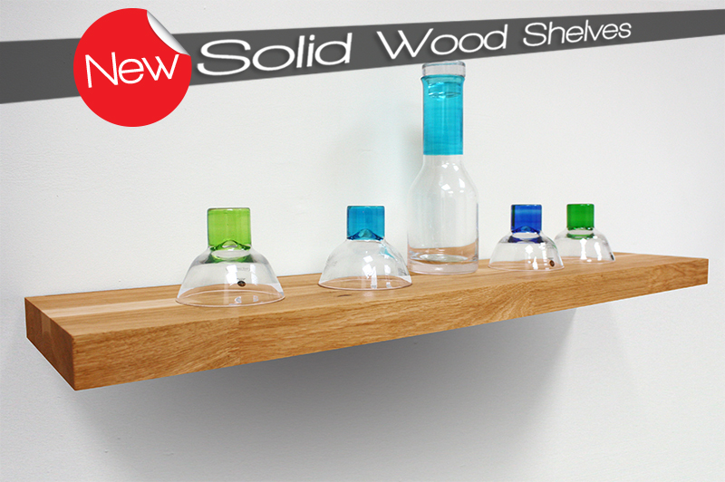 Solid Wood Shelves: Now on Sale! block wood work tops