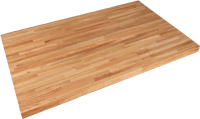 Rectangular Solid Wood Restaurant Table Tops