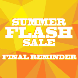Summer Flash Sale Reminder: Still Time to Save 10% on Worktops!