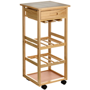 Kitchen trolley from Premier Housewares Kitchen Worktops